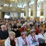 Parafianie w dniu 700-lecia Lubszy
