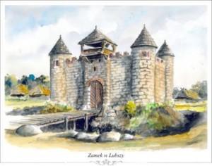 zamek w Lubszy