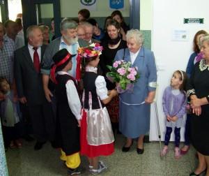 Powitanie pani Doroty Osadnik