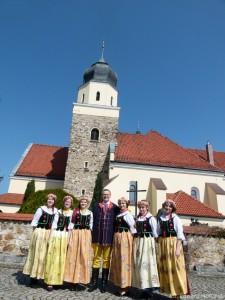 Zdj. arch. Marszałek w Lubszy, 6 kwietnia 2014