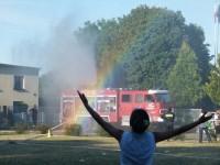 Pokaz gaszenia pożaru