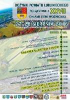 Dozynki-plakat Wozniki