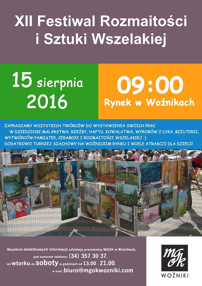 festiwal wozniki